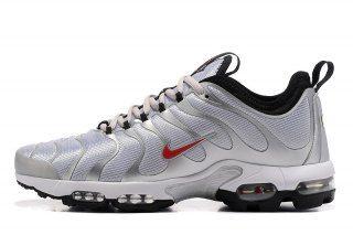 c718a78b0acd Mens Womens Nike Air Max Plus Tn Ultra Silver Bullet Metallic Silver Varsity  Red Black White 903827 001 Running Shoes
