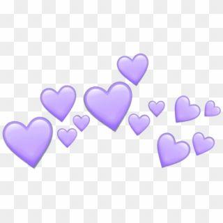 Purple Hearts Heart Purpleheart Crown Tumblr Emoji Purple Heart Crown Png Transparent Png In 2020 Heart Emoji Stickers Pink Heart Emoji Heart Emoji