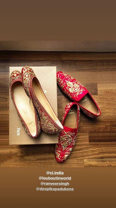 Sabyasachi And Christian Louboutin Design Bespoke Footwear For