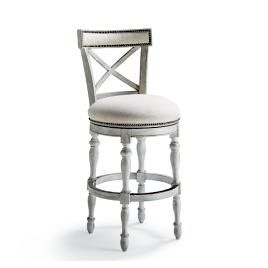 Fantastic Wexford Square Backless Counter Stool 26H Seat Frontgate Machost Co Dining Chair Design Ideas Machostcouk