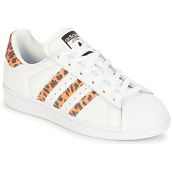 Schoenen Dames Lage sneakers adidas Originals SUPERSTAR W ...