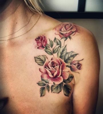 Disenos De Entre 20 De Los Mejores Tatuajes De Rosas Hermosos Tatuajes Tatuajes Tatuajes Florales