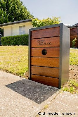 Details About Gvozd Letterbox Steel Timber Silver Ripple Or Matte Black Mailbox Black Mailbox Steel Mailbox