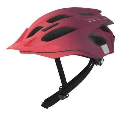 Sport Trail Mtb Helmets Adult St 500 Mtb Helmet Black Red