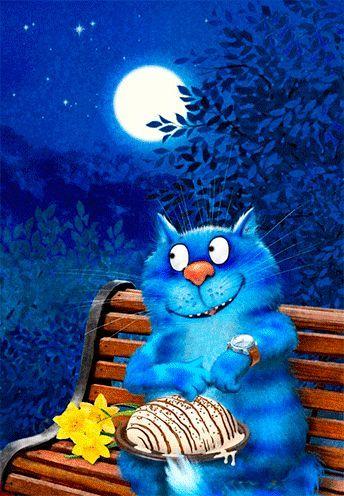 Gif de Irinakardek (Art. Rina Zeniuk) 😻 Blog Gatos 🐱  #art #Gif #Irinakardek #Rina #Zeniuk #Gatos Dibujos #Gatos de Tela #Gatos Fondos  🐱