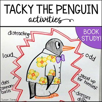 Tacky The Penguin Printables And Activities For K 2 Tacky The