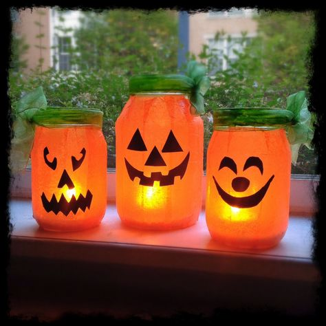 44 DIY Ideen mit Einmachgläsern, welche die Kreativität in einem wecken Best Picture For diy halloween kids For Your Taste You are looking for something, and it is going to tell you exactly what you a