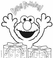 Elmo Coloring Pages Ideas Birthday Coloring Pages Happy Birthday Coloring Pages Elmo Coloring Pages