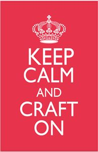 View Design #32836: keep calm and craft on