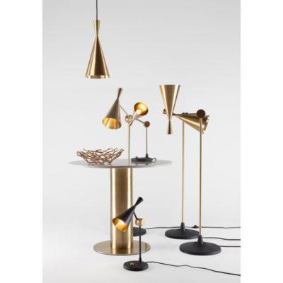 Beat Table Lamp In 2020 White Table Lamp Brass Floor Lamp Tom Dixon Lighting