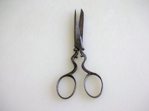 Antique Luz Scissors Victorian Embroidery Scissors by TheFactorie