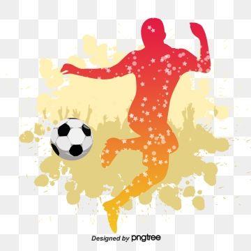 Fussballer Silhouette Fussball Clipart Clipart Clipart Kostenlos