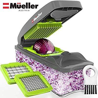 Amazon Com Mueller Onion Chopper Pro Vegetable Chopper