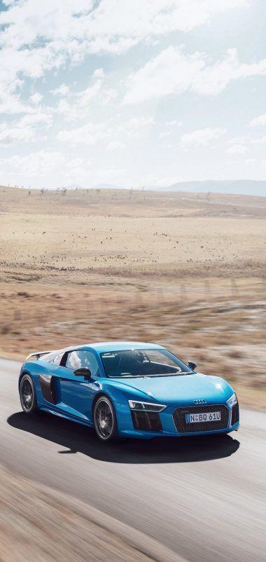 Audi R8 V10 Movement Road Wallpaper 1440x3040 Car Wallpapers Audi R8 Audi R8 V10