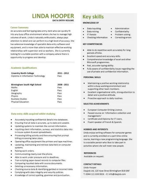Clinical Data Manager Resume Sample (http\/\/resumecompanion - database architect resume