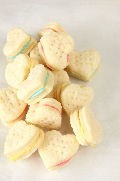 These cream wafer sandwich cookies are so tender and flaky they melt in your mouth. Four ingredients is all you need to make this cookie dough.