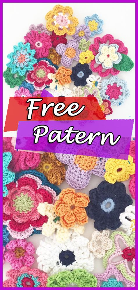 Crochet Flowers Ebook Free Pattern In 2018 Crochet Free Patterns