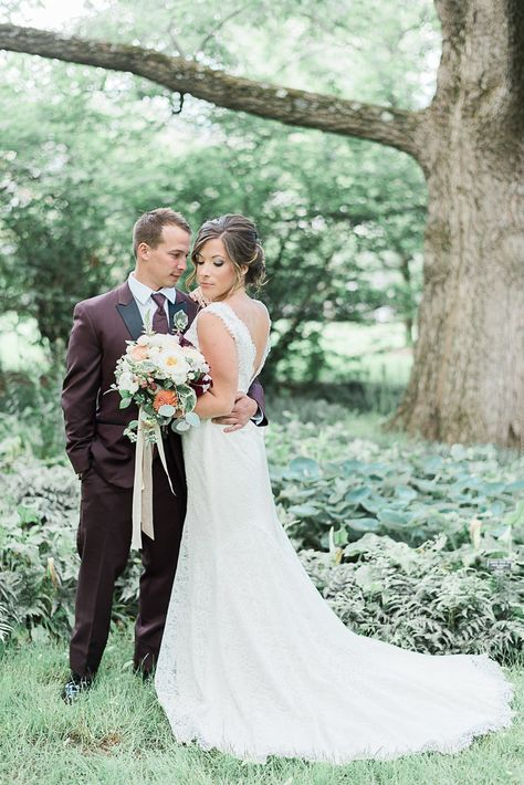 Lace Neckline Wedding Dress Style 1802 Mikaella Bridal