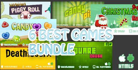 Best 6 Games Bundle-2 HTML5 Mobile Games
