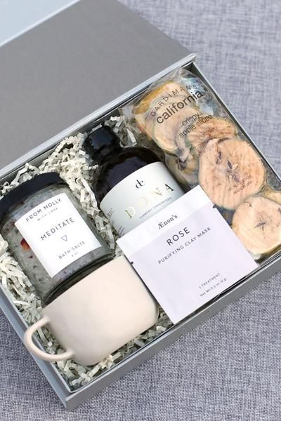 Be Well Gift Box Filled With Ayurvedic Inspired Ingredients To Promote Wellbeing Choose From Our Rea Valentine Gift Baskets Wellness Gifts Curated Gift Boxes