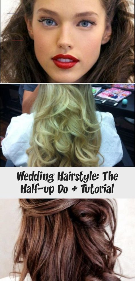 Wedding Hairstyle: The Half-up Do + Tutorial - WEDDING How are you doing your hair for your wedding? Up? Down Half up-do? What accessories? Have no clue? I'd love to hear from you! #weddinghair #bridalhair #flowercrown #flowerhalo #updo #bridalupdo #bridalhairstyle #bridehair #bridehairstyle #weddinghairstyle #weddinghairBlonde #weddinghairPieces #weddinghairCurly #weddinghairWithFringe #Summerweddinghair<br> How are you doing your hair for your wedding? Up? Down Half up-do? What accessories? Ha
