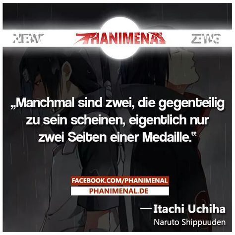 Wahrhaftig :) on We Heart It #zitate #naruto