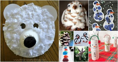 30 Fun Winter Crafts To Keep Your Kids Busy Indoors When