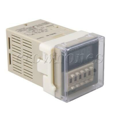 Dh48j 8a Time Delay Relay 8 Pin 24vac Dc Sensor Digital Counter 0 999900 In 2020 Digital Timer Relay Number Labels