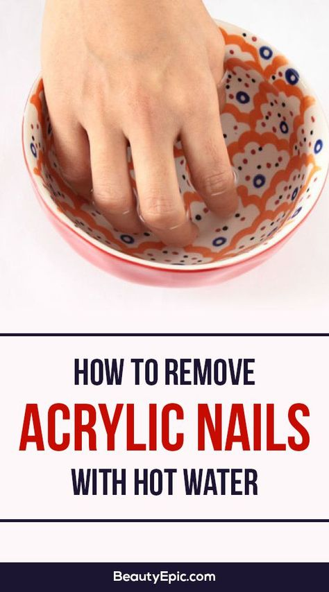 The Twisted Horn: How to Remove Acrylic Nails or Gel Polish at Home ...