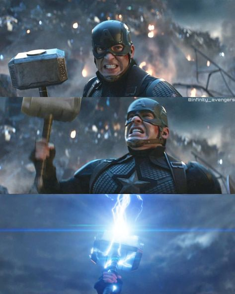 "follow4Daily AVENGERS💥HDPosts on Instagram: ""Cap kicking Thanos' ass 🔥🔥 How great Cap was in this scene ❤️💪🏻 #avengers #endgame #avengersendgame #infinitywar #marvel #ironman #thanos…"""