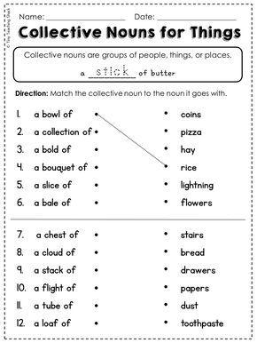2nd Grade Language Arts and Grammar Practice Sheets Freebie ...