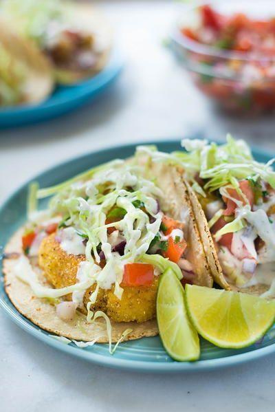 Homemade Baja Fresh Fish Tacos Fish Tacos Seafood Entrees Baja Fish Tacos