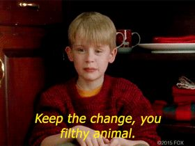 Home alone pictures and quotes.
