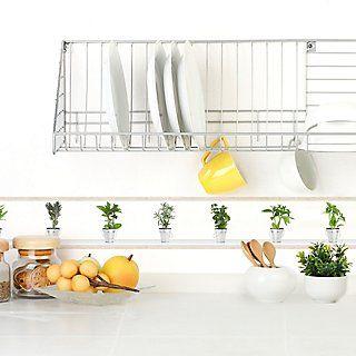 Cenefa Adhesiva Hierbas 5mx15cm Leroy Merlin Cenefa Para Cocina Cenefa Decorar La Cocina