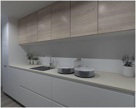 16 Pascher Cocina Blanca Encimera Beige Imagen En 2020 Decoracion De Cocina Cocinas De Casa Decoracion De Cocina Moderna