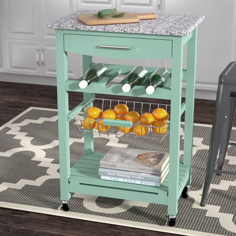 Granite Top Kitchen Cart | Macy Kitchen Cart With Granite Top In 2018 Gifts For Me
