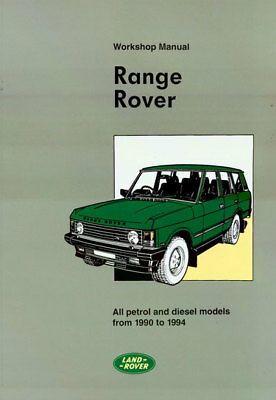 Land Range Rover Shop Manual Service Repair Book Workshop Restoration Guide Ebay In 2020 Range Rover Workshop Repair