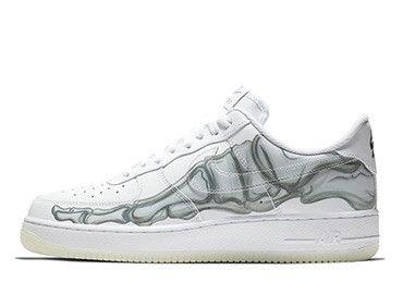 Nike Air Force 1 Low Skeleton BQ7541 100 Store List | Nike
