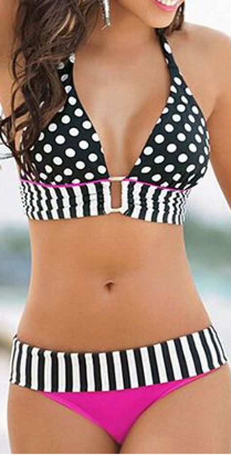 Sandoratto Monte Carlo Banded Bikini Bottom 2730 9.99 USD
