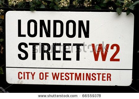 Stock Photo London Street Sign London Street Street Signs