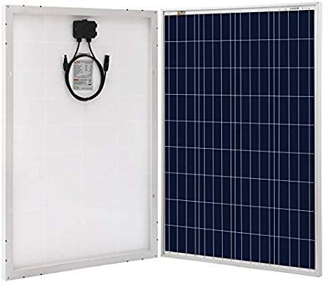 Richsolar 100 Watt Polycrystalline 100w 12v Solar Panel High Efficiency Poly Module Rv Marine Boat Off Grid Solar Panels Flexible Solar Panels