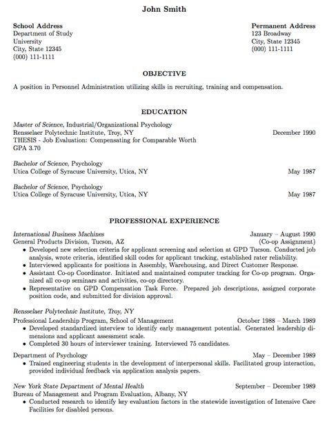 Long Professional Cv Job Resume Examples Acting Resume How To Make Resume