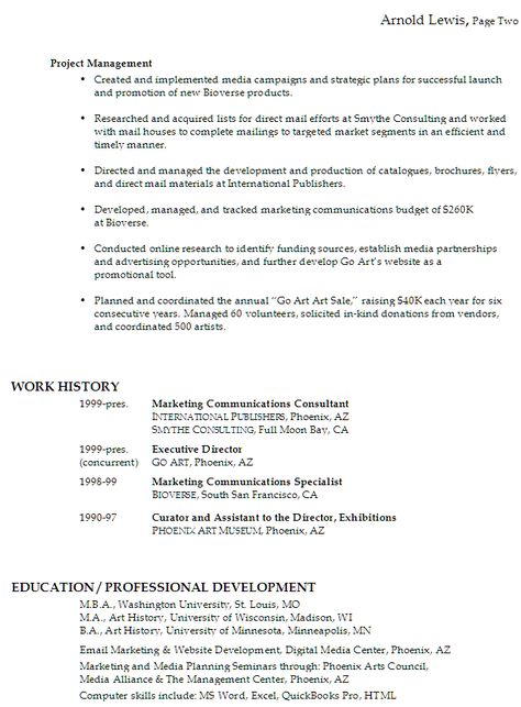 Sales Marketing Resume Sample Learn more about video marketing at - how to write a canadian resume