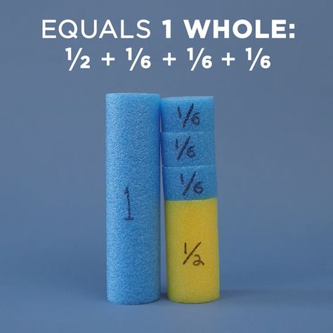 Pool Noodle Fractions