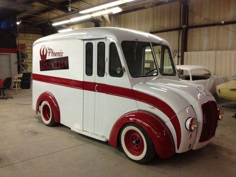 Oooh Nice Milk Truck Trucks Luxury Van Panel Truck