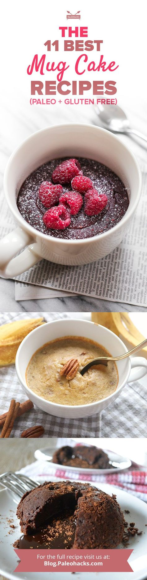 11 Gluten Free Mug Cake Recipes That Are Perfect For The