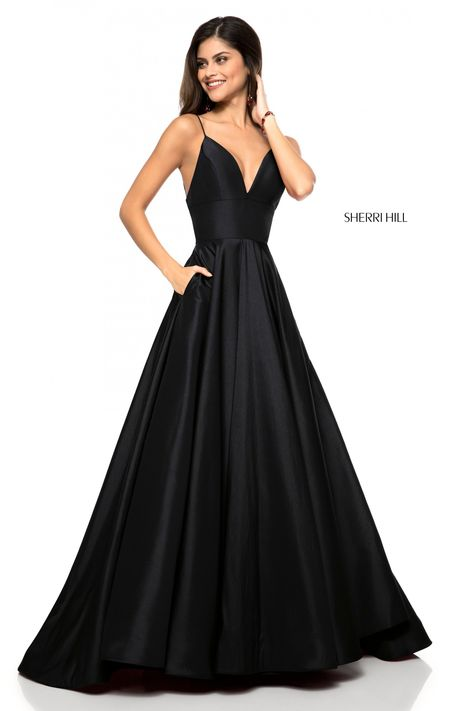 Neon Prom Dresses, Sherri Hill Prom Dresses, Prom Dress Stores, Ball Dresses, Bridesmaid Dresses, Sherri Hill Black Dress, Dress Prom, Teen Dresses, Dress Black