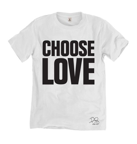 Hamnett World Peace T-Shirt in Black Katherine Hamnett SAVE THE WORLD