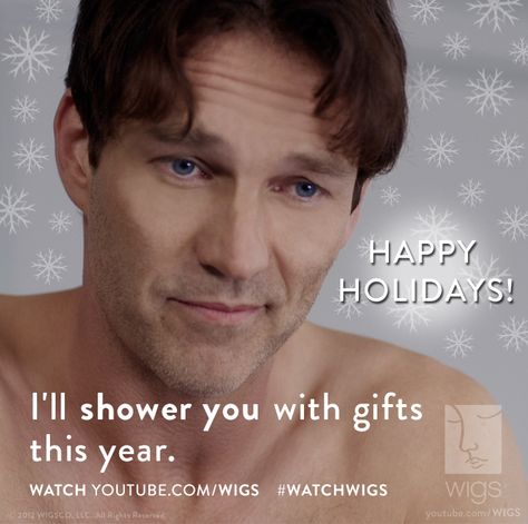 Stephen can shower us with anything!    #stephenmoyer #watchwigs www.youtube.com/wigs