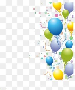 Birthday Balloons Birthday Vector Balloon Balloons Vector Png